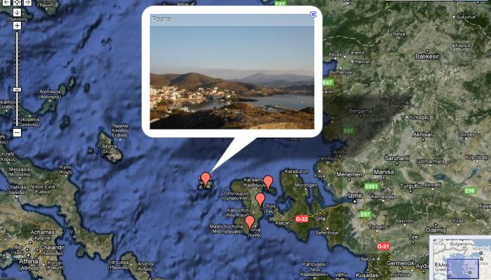 destinations on google map